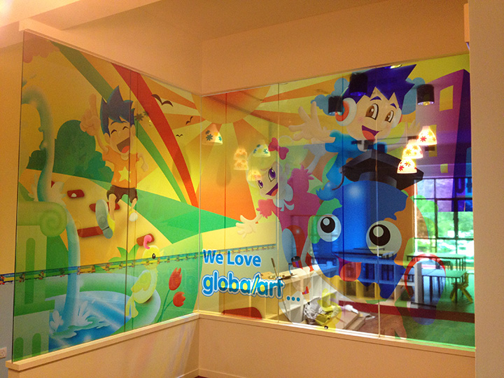 Window Glass Graphics